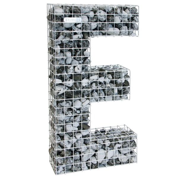 bellissa Buchstabengabione E 100x55x21 cm