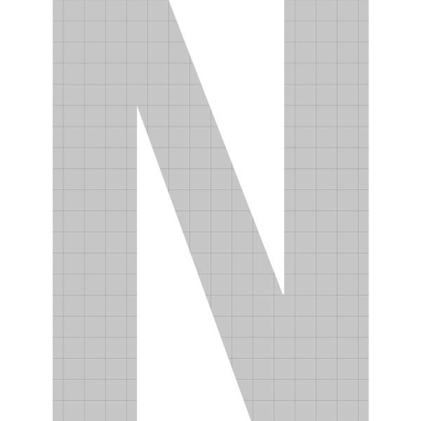 bellissa Buchstabengabione N 100x77,5x21 cm