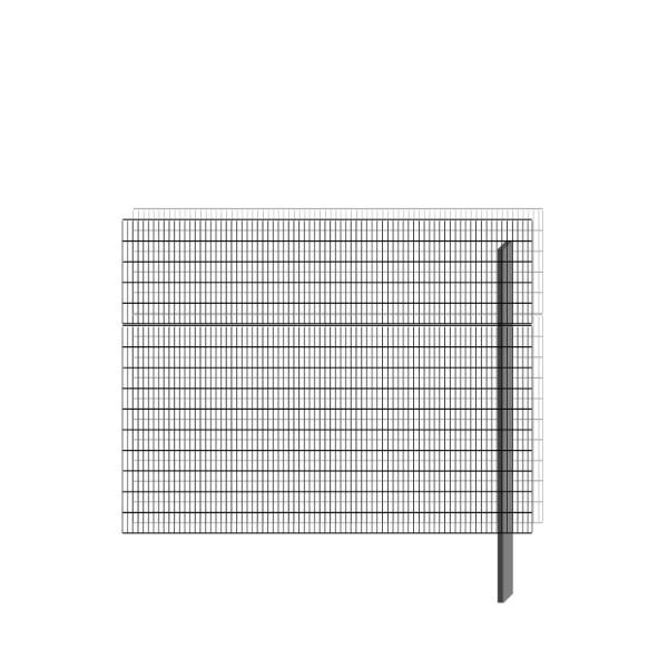bellissa Erweiterungsbausatz paravento 197,8 x 151 cm
