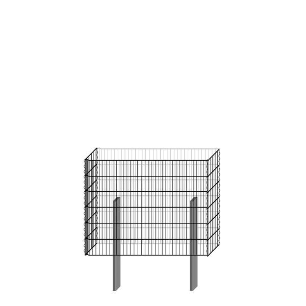bellissa Gabionenbausatz - pico 115x23x90 cm