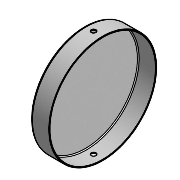 bellissa Pfostenkappe Metall mit Schrauben Ø 11,8 x 2 cm für columella
