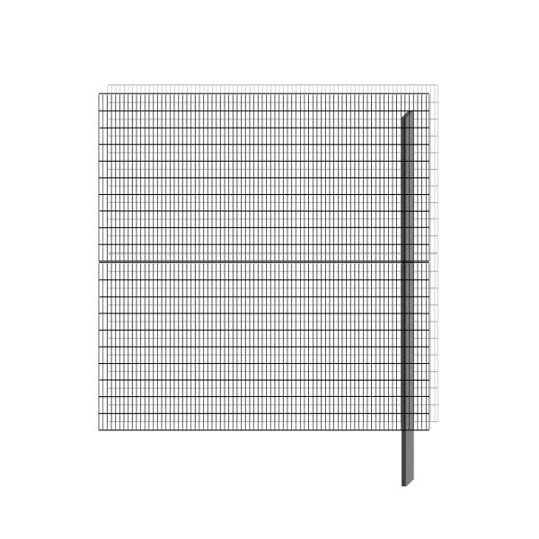 bellissa Erweiterungsbausatz paravento 197,8 x 201 cm