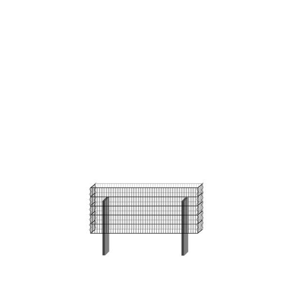 bellissa Basisbausatz paravento 117,8 x 50,5 cm
