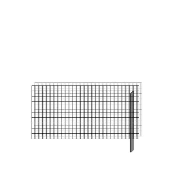 bellissa Erweiterungsbausatz paravento 197,8 x 100,5 cm