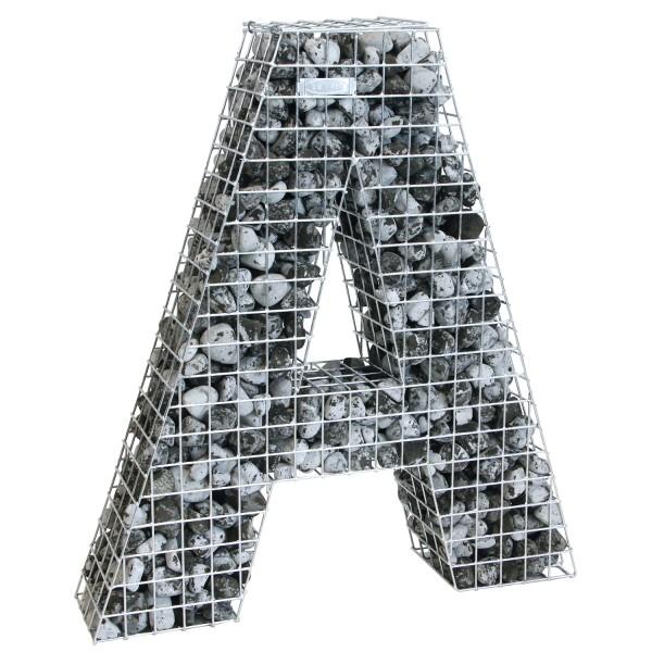bellissa Buchstabengabione A 100x90x21 cm