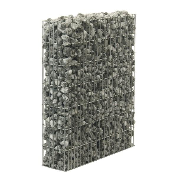 bellissa Seitenteil einzeln zur Erweiterung der Mülltonnenumrandung B101,5xT23,5xH120 cm