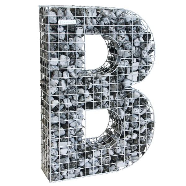 bellissa Buchstabengabione B 100x66,5x21 cm
