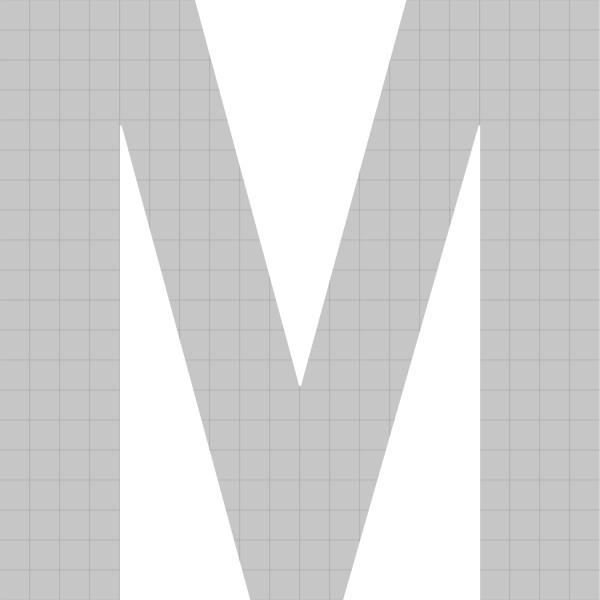 bellissa Buchstabengabione M 100x103x21 cm