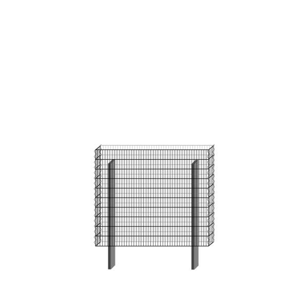 bellissa Basisbausatz paravento 117,8 x 100,5 cm