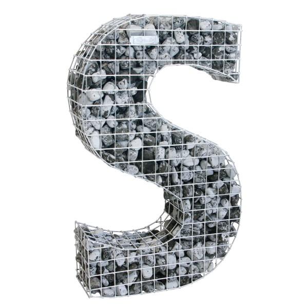 bellissa Buchstabengabione S 100x61,5x21 cm