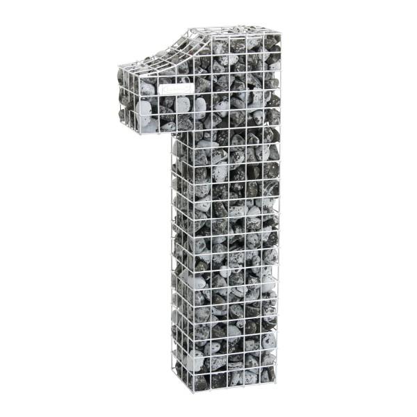 bellissa Gabionenziffer 1 100x35x20 cm