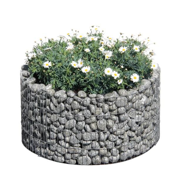 bellissa Hochbeet Basic rund inkl. Trennfolie Ø 81/67 H 40 cm