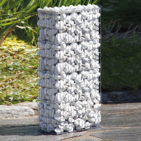 bellissa Gabione ohne Bewässerungskasten oben offen B40xT20xH80 cm