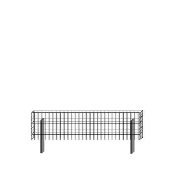 bellissa Basisbausatz paravento 197,8 x 50,5 cm