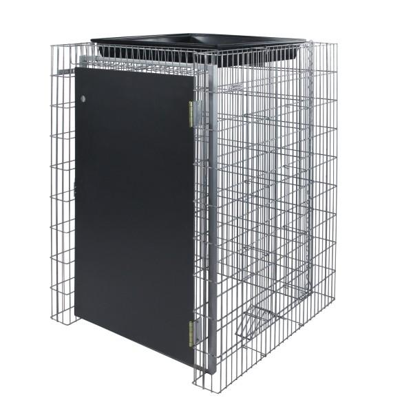 bellissa Gabionen Mülltonnenbox 120 für 120L Mülltonnen 123x80,5x83,5 cm