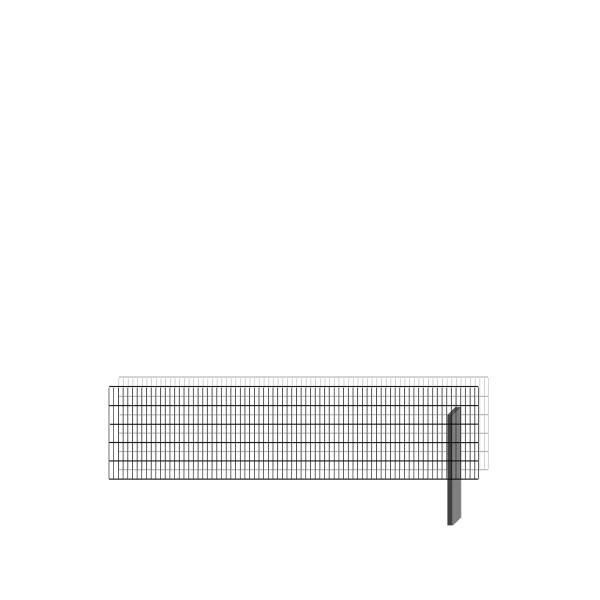 bellissa Erweiterungsbausatz paravento 197,8 x 50,5 cm