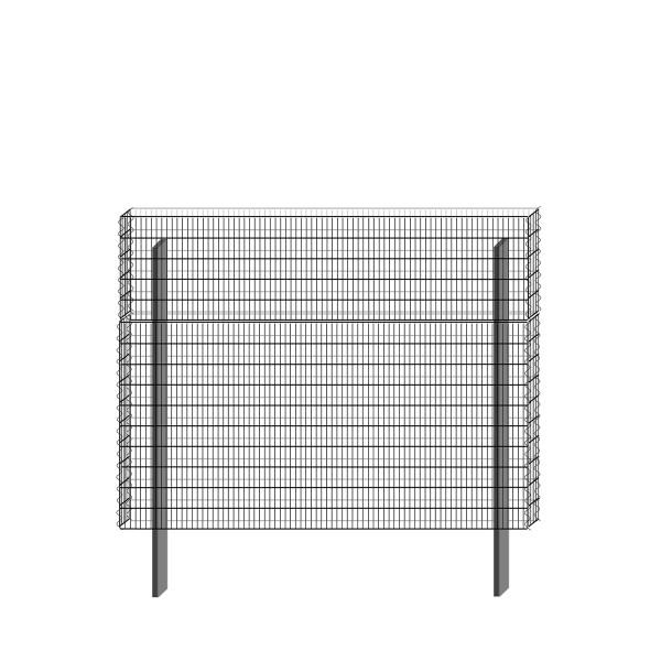 bellissa Basisbausatz paravento 197,8 x 151 cm